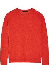 Cedric Charlier Ribbed Knit Sweater Red