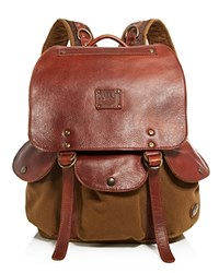 Will Leather Goods Lennon Backpack Tobacco Saddle