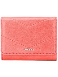 Diesel 'Adhele' Small Wallet Pink And Purple