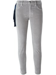 Jacob Cohen Skinny Trousers Grey