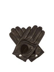 Dents Cliveden Hairsheep Leather Gloves Black
