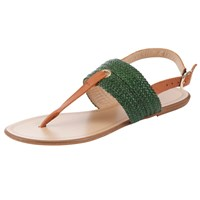 John Lewis Woven Leather Rio Flip Flop Sandals