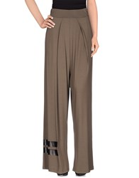 Kai Aakmann Kai Aakmann Trousers Casual Trousers Women Military Green