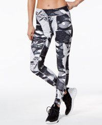 Reebok Shredded Printed Speedwick Leggings Black
