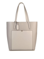 Smythson Panama North South Leather Tote