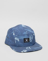 Dc Cruiser 5 Panel Cap Blue