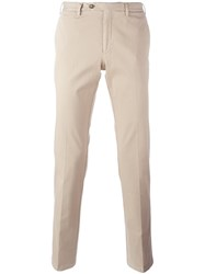 Canali Classic Chinos Nude And Neutrals