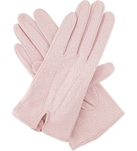 Dents Imipec Leather Gloves Flamingo