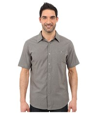 Marmot Windshear Short Sleeve Cinder Men's Short Sleeve Button Up Gray