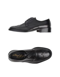 Gianfranco Lattanzi Lace Up Shoes Black
