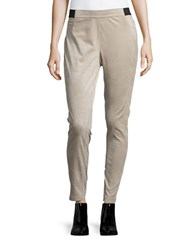 Calvin Klein Sueded Leggings Beige