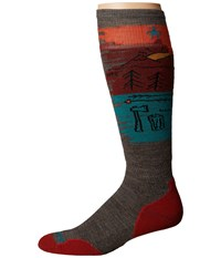 Smartwool Phd Slopestyle Light Osorno Taupe Men's Knee High Socks Shoes