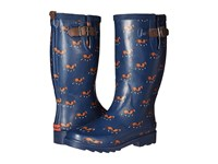 Chooka Horse Trot Rain Boot Navy Women's Rain Boots