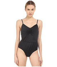 Adidas By Stella Mccartney Swimsuit Cover Up Padded Ao4765 Black