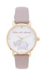 Kate Spade Metro Calm Cool Collected Watch Gold