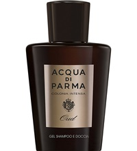 Acqua Di Parma Colonia Intensa Oud Eau De Cologne Concentree Hair And Shower Gel 200Ml