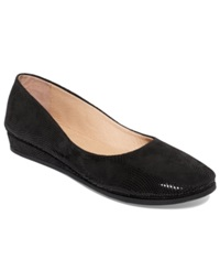 French Sole Fs Ny Zeppa Wave Flats Women's Shoes Black Wave