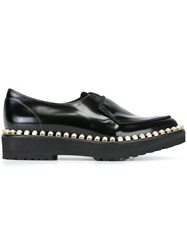 Suecomma Bonnie Studded Loafers Black