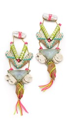 Deepa Gurnani Kimeo Earrings Multi