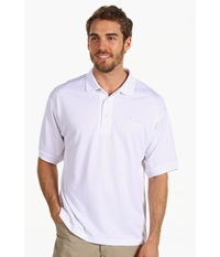 Columbia Perfect Cast Polo White Men's Short Sleeve Pullover