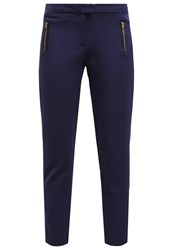 Naf Naf Trousers Bleu Marine Dark Blue