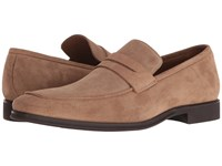 Bruno Magli Ragusa Sand Suede Men's Slip On Shoes Tan