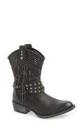 Women's Coconuts By Matisse 'Rawhide' Slouchy Western Boot Black