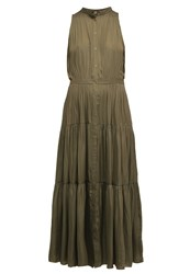 Banana Republic Maxi Dress Fresh Olive