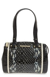 Brahmin Small Alice Carlisle Leather Satchel