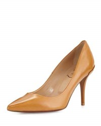 Roger Vivier Decollete Palace Leather 85Mm Pump Fox Brown
