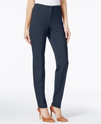 Alfani Petite Hollywood Skinny Pants Only At Macy's Modern Navy