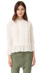 Ulla Johnson Najda Blouse Snow
