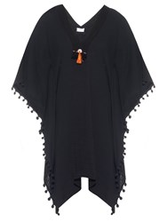 Vmt Careyes Nat Embellished Cotton Kaftan
