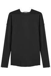 Damir Doma Cotton Top Black