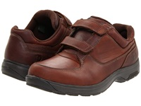Dunham Winslow Brown Polishable Leather Men's Hook And Loop Shoes