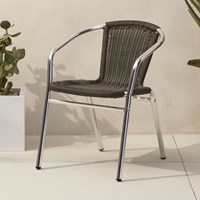 Cb2 Rex Grey Chair