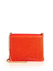 Christian Louboutin Tribouli Spiked Crossbody Bag Capucine Black