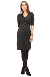 Isabella Oliver Women's 'Bella' Nursing Dress Dark Grey Melange
