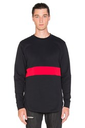 Black Scale Mahady L S T Shirt Black