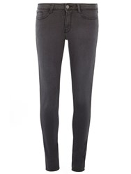 Dorothy Perkins Charcoal Bailey Ultra Stretch Jeans Grey
