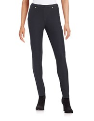 Michael Michael Kors Petite Textured Leggings Navy