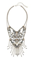 Dannijo Vega Necklace Ox Silver Multi