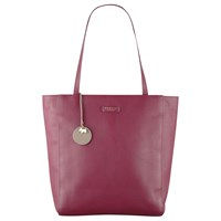 Radley Longacre Leather Large Zip Top Tote Bag Red