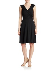 Spense Ruched A Line Dress Black