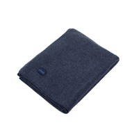 Zoeppritz Soft Wool Blanket Royal Blue