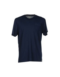 Sundek T Shirts Dark Blue