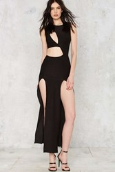 Cutout Of Excuses Maxi Dress