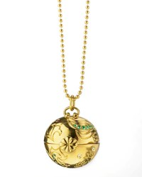 Monica Rich Kosann Venus Inner Beauty 18K Gold Charm Necklace