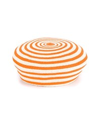 Gucci Striped Hemp Beret Orange White Hemp Off White Green