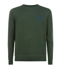 La Martina Crew Neck Jumper Male Forest
